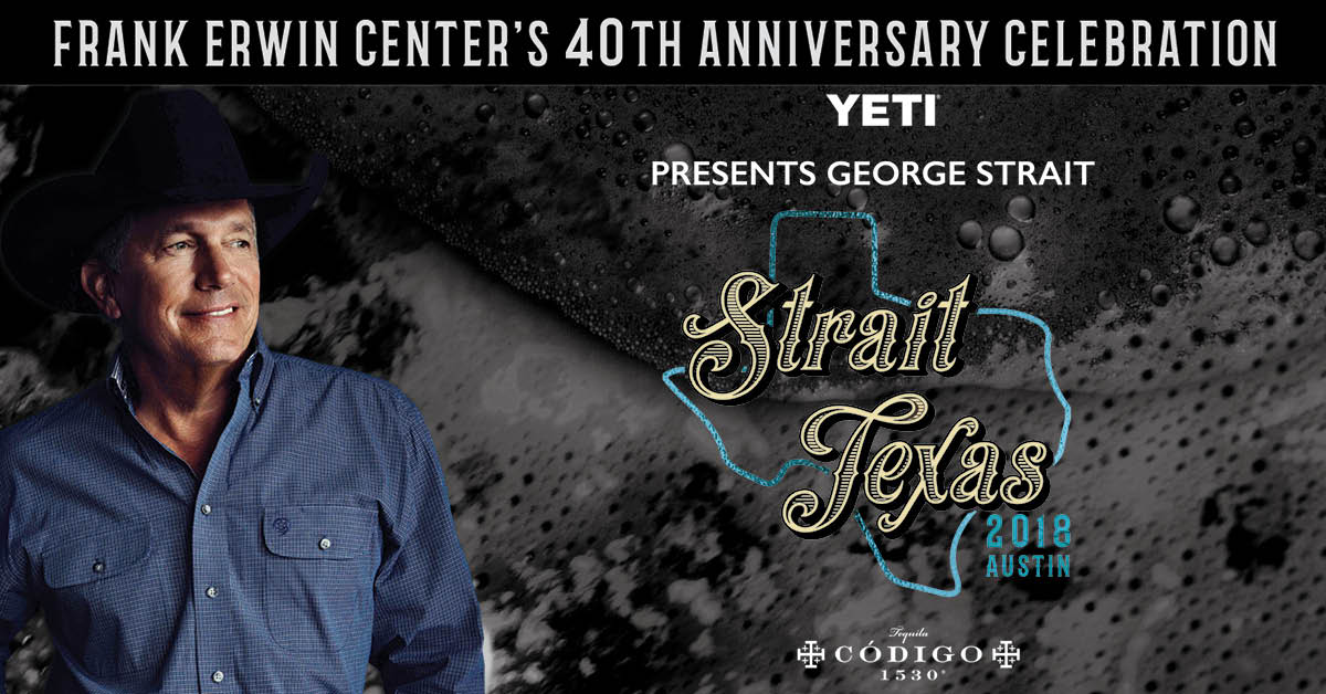George strait at the frank erwin center 2018 cid entertainment m4hsunfo Gallery