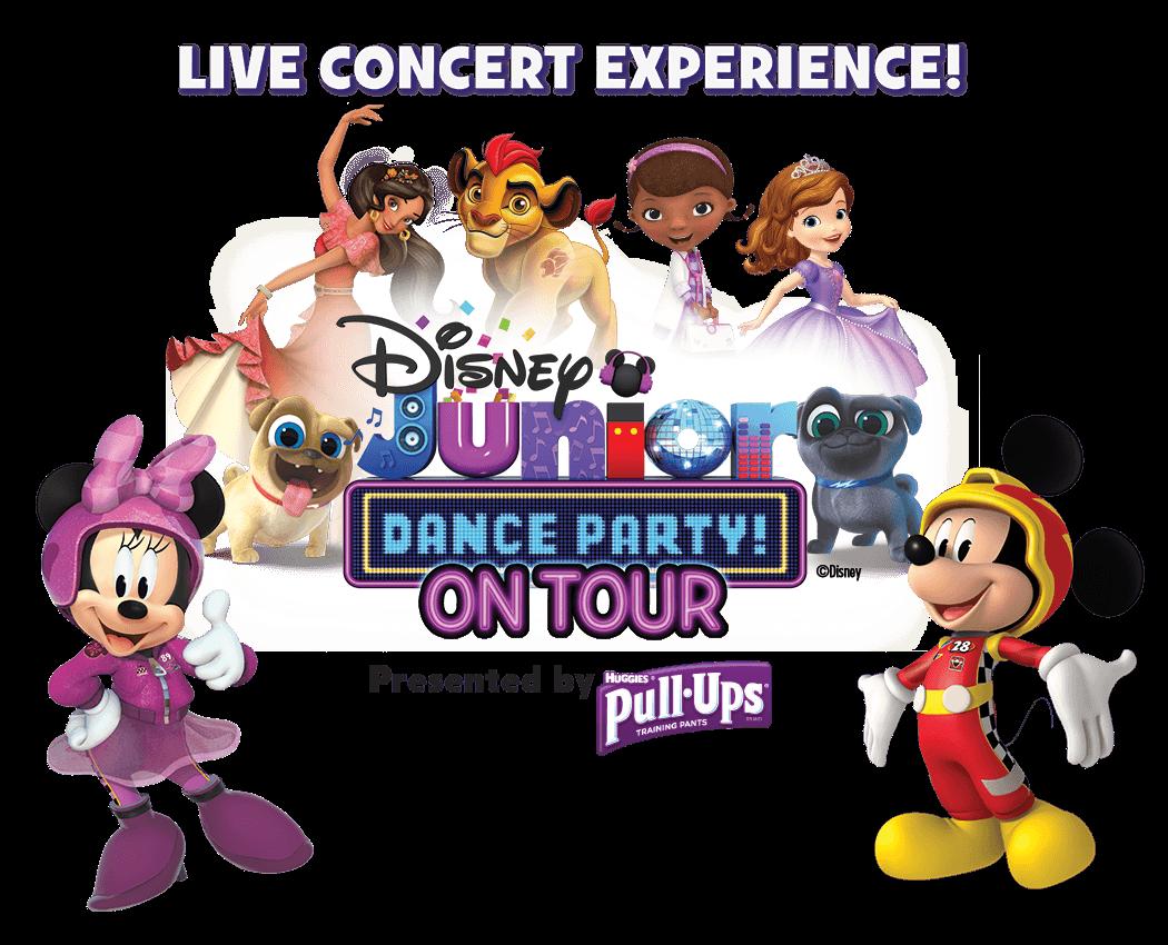Disney Junior Dance Party Tour 2018