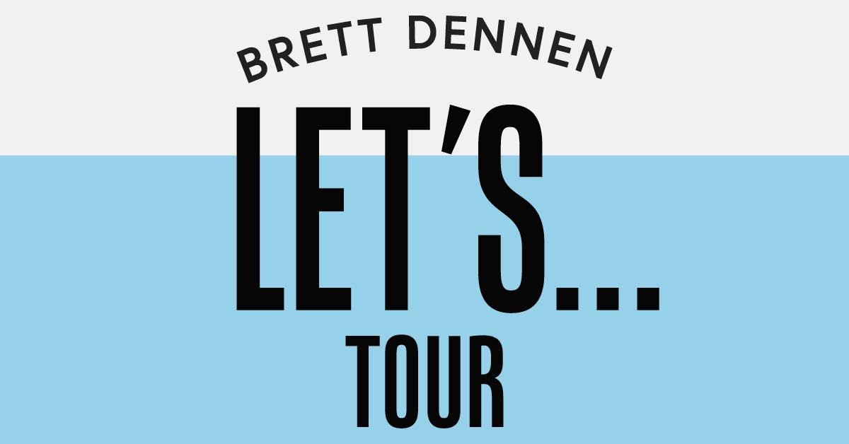 Brett Dennen Lets Tour 2018 Cid Entertainment
