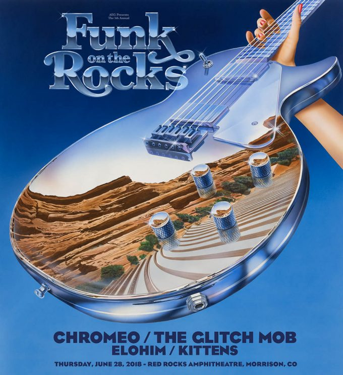 Chromeo Funk on the Rocks 2018