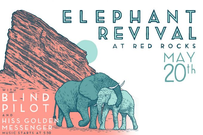 Elephant Revival at Red Rocks 2018