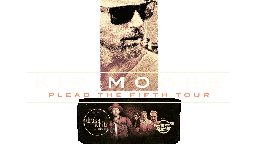Kip Moore Plead The Fifth Tour 2018