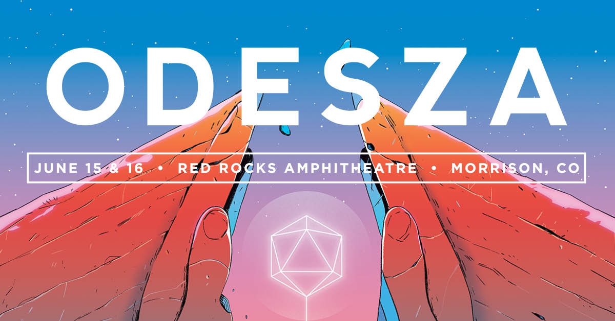 Odesza Vip Amp Travel Packages Red Rocks 2018