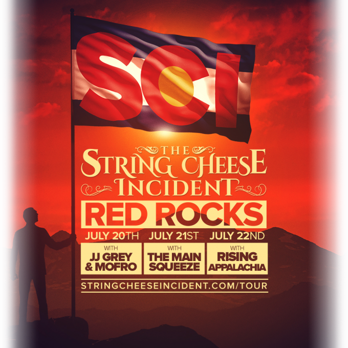 The String Cheese Incident at Red Rocks 2018