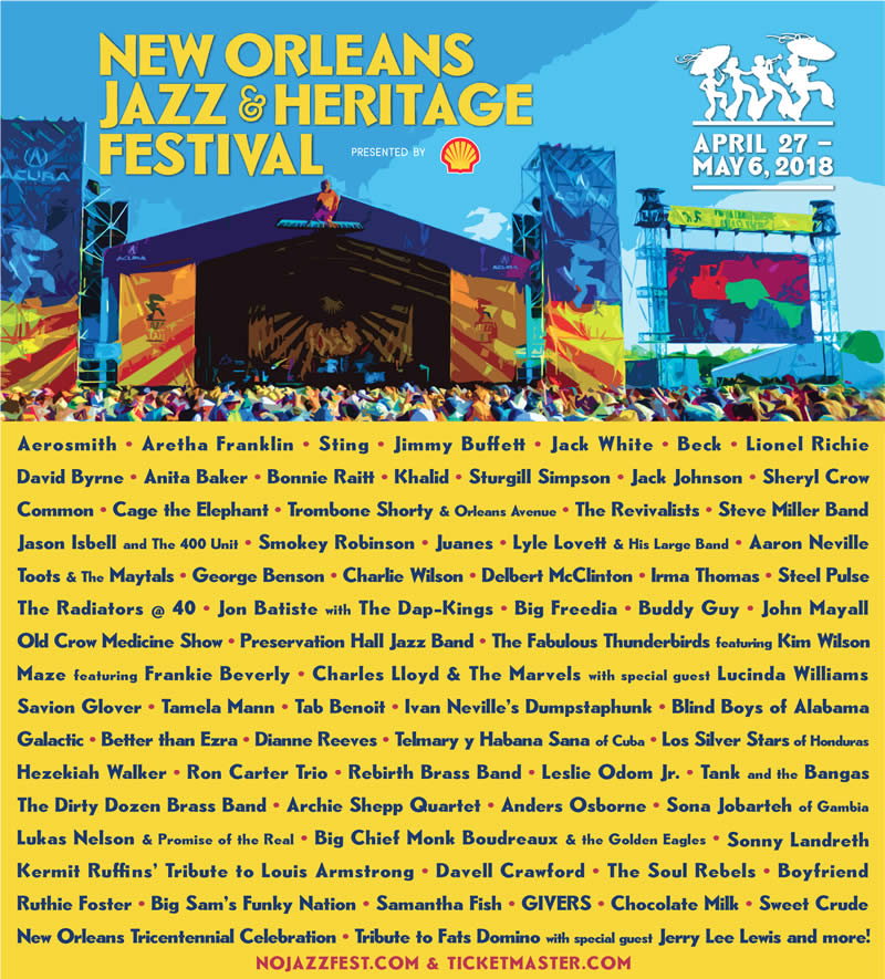 New Orleans Jazz Fest Travel Packages