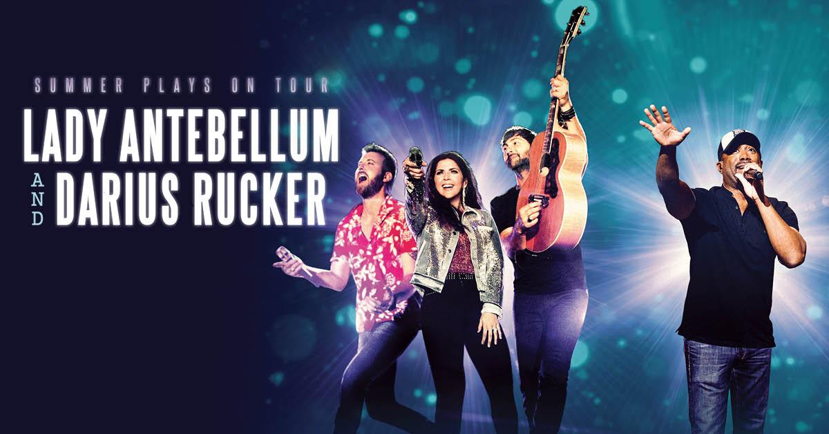 Lady Antebellum Amp Darius Rucker Summer Plays On Tour 2018
