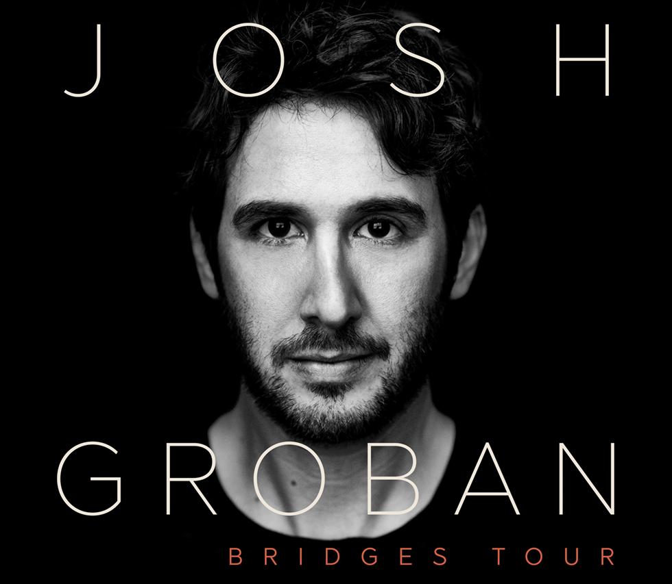 Josh Groban Bridges Tour 2018