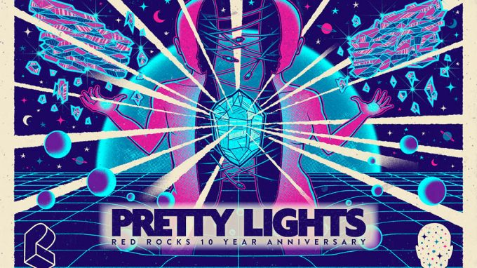 Pretty Lights at Red Rocks 2018