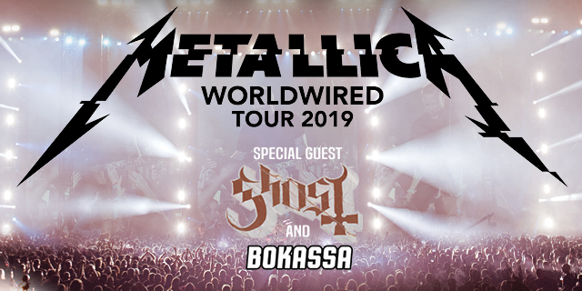 Metallica Tour Europe 2019: Enhanced Experience Packages